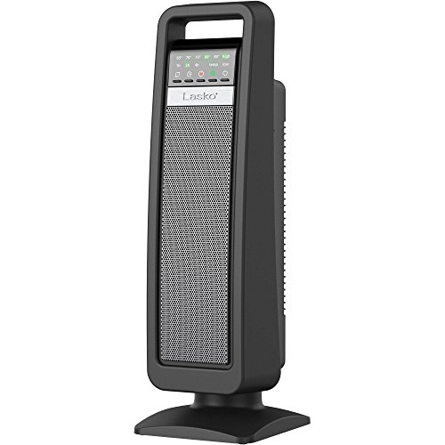 Lasko Smart Tech Oscillating Ceramic Tower Heater Fan with Multi Function Remote Control and FREE Air Freshener, 0.67 Ounce (Lasko Ceramic 755320 compare prices)