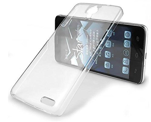 Alcatel One Touch Idol X+ Cover, B&D (This is Hard Cover, This is not Tpu or Jelly) Clear transparent hard case Back Cover for Alcatel One Touch Idol X+