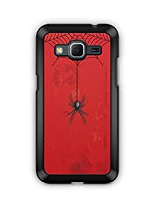 YuBingo Spider Hanging from Web Mobile Case Back Cover for Samsung Galaxy Core Prime