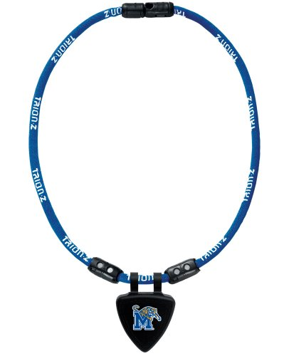 NCAA Memphis Tigers Necklace, Blue, Small
