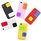 Thumbs Up UK Color Block Case for iPhone 4 - Retail Packaging - Black