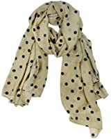 Kobwa(TM) Warm Polka Dot Scarf Wrap Women Lady Girl Shawl With Keyring