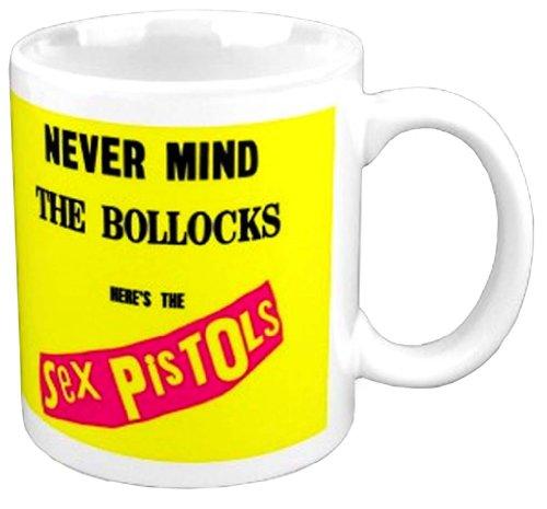 Rock Off Sex Pistols Nevermind The Bolloks Coffee Mug
