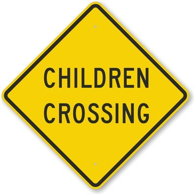 Child Safety Sign
