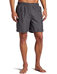 Kanu Surf Men\'s Havana Trunks, Charcoal, Large