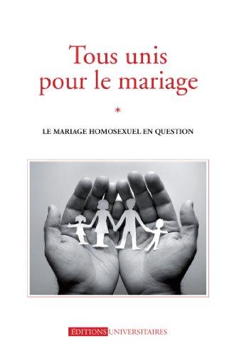 Couverture du livre Tous unis pour le mariage