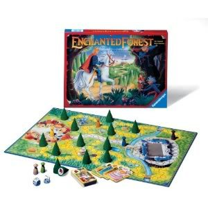 Toy / Game Ravensburger Enchanted Forest - Family Game - Magical Treasure Hunt In The Land Of Fairy Tales