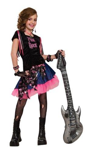 Rubie's Pink Rock Girl Costume - Medium (6-8)