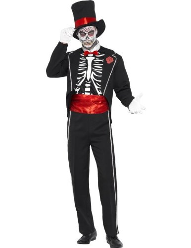 Smiffys Men's Day Of The Dead Costume