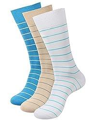 Balenzia Men's Mercerized Socks (Pack Of 3) (Jagmini31_Multi)