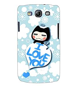 ColourCraft Love Back Case Cover for SAMSUNG GALAXY S3 NEO I9300I