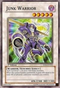 Yu-Gi-Oh! - Junk Warrior (5DS2-EN042) - 5Ds Starter Deck 2009 - 1st Edition - Common (Starter Deck Junk Warrior compare prices)