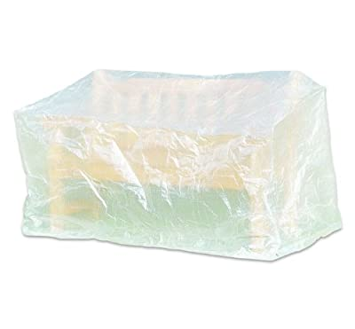 Schutzhaube, Bankhülle, Wetterschutz, Schutzhülle für Bank 160 x 75 x 78 cm transparent