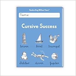 cursive writing amazon Brighter child handwriting: cursive helps students master legible writing in the cursive style practice is included for lowercase and uppercase letters, words and.