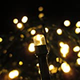 300 LED Indoor Outdoor Warm White Low Voltage Plug-in String Lights With 8 Functions -connectable up to 1200 LEDs
