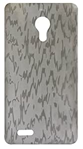 Vcare Shoppe Transparent Back case cover for Karbonn A81