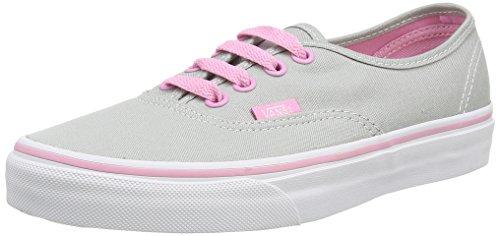 Vans U Authentic Pop Sneakers, Unisex, Grigio (pop high-rise/prism pink), 37