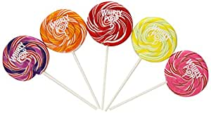 Adam & Brooks Whirly Pops, Variety Pack, 6.0 Ounce (Pack of 36)