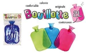 Bouillotte caoutchouc 2 litres - SB83908