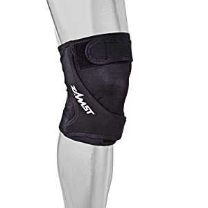 Zamst RK 1 Runners Left Knee Brace, Black, X-Small