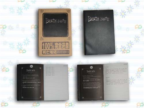 Death Note Notebook DN-001B