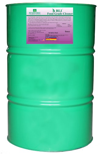 Renewable Lubricants Food Grade Cleaner, 55 Gallon Drum