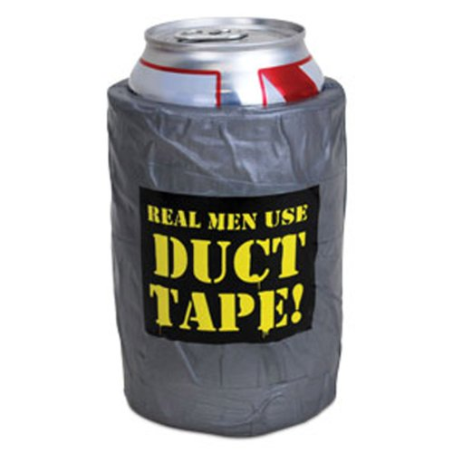 Duck Duct Tape Koozie Beer Can Foam Cooler Container Drink Holder Kooler Sleeve front-244395