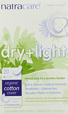 Natracare Dry and Light Pads, 20 Count