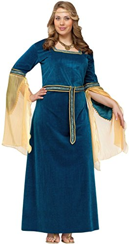 Renaissance Princess Adult Plus size Costume
