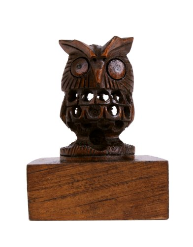 Handcrafted Owl Shaped Rosewood Door Stopper Wall Mount Wooden Furniture Accessories Holder Hardware Knobs Floor Blocker Closers Jammer