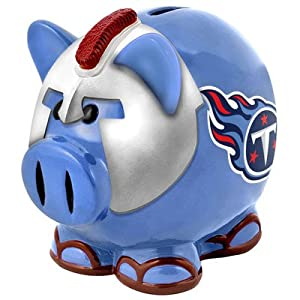 NFL Tennessee Titans Resin Large Thematic Piggy Bank