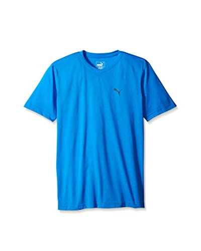 PUMA Men's Essential Short Sleeve V-Neck