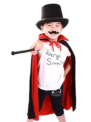 [Absolutely Perfect Fashion Novelty Halloween Cosplay Costume Deluxe Party Props Cloak One Size] (Devil Costume Party City)