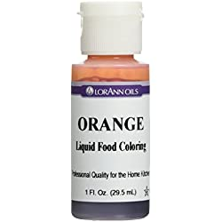 Liquid Food Color 1oz-Orange
