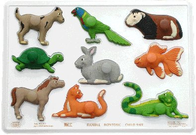 Picture of Mindgear Products Layers of Learning Puzzles---Pets! (B000XE8JAQ) (Pegged Puzzles)