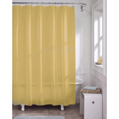 United Linens 10 Gauge HEAVY DUTY Shower Curtain Liner Golden, PEVA, , Mildew Free, Resistant, Mold Resistant , Eco Friendly , Vinyl , No Chemical Odor High quality liner (Canada Shower Curtain compare prices)