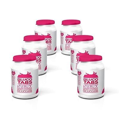 GlucoTabs Rasberry Multipack of 6 Pots (50 tablets/pot) from Owen Mumford Ltd