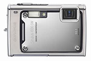 Olympus Stylus 1030SW 10.1MP Digital Camera with 3.6x Optical Wide Angle Zoom (Silver)