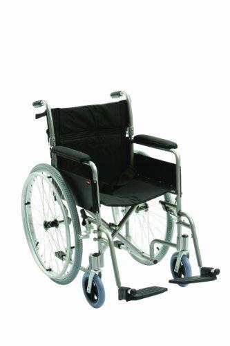 Fauteuil roulant de transfert en aluminium ultra léger Assise 45 cm