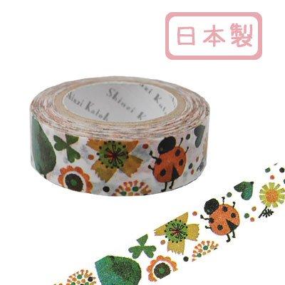 シール堂 ks-mt-10011 [ ladybird ]  シンジカトウ マスキングテープ Shinzi Katoh  日本製