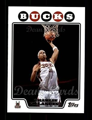 2008 Topps Charlie Villanueva Bucks (BasketBall Card) # 92 Dean's Cards 8 - NM/MT