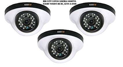 Puffin-S28330-3-1000TVL-Night-Vision-Dome-Camera-(3-PCs)