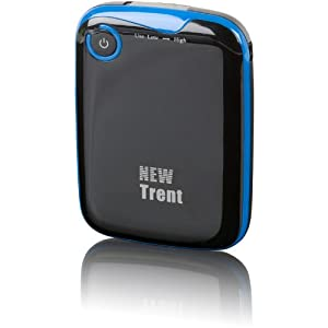 New Trent iFuel IMP500 5000mAh External Battery Pack and Charger for iPhone 5 4S 4 3Gs 3G, iPod Touch (1G to 5G), Android (Samsung Galaxy Note S S2, HTC Sensation EVO Thunderbolt, LG Optimus V), Blackberry (Bold curve Torch), Droid(Motorola Razr), Plus Major Tablet PCs with 5V input (Samsung, Blackberry, HTC) etc