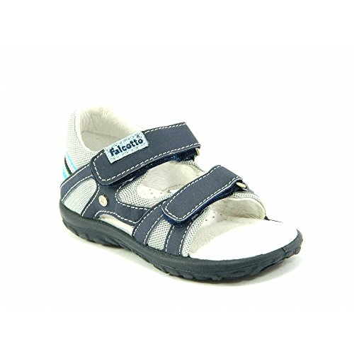 Falcotto - Falcotto sandali blu grigio bambino 1190 - Blu, 19