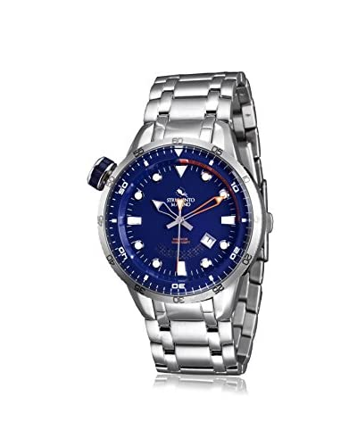 Strumento Marino Men's Blue/Blue SM108MB/SS/BL/AR Watch