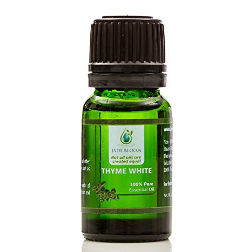 Jade Bloom 100% Pure Thyme White Essential Oil - 10ml (Therapeutic Grade)