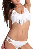 iLoveSIA Bikini Femme maillot de bain Top et bas ensemble 2 pieces,FR taille S M L,Couleur a choisir