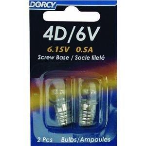 Dorcy 41-1655 4D/6V Krypton Screw Base Replacement Bulb