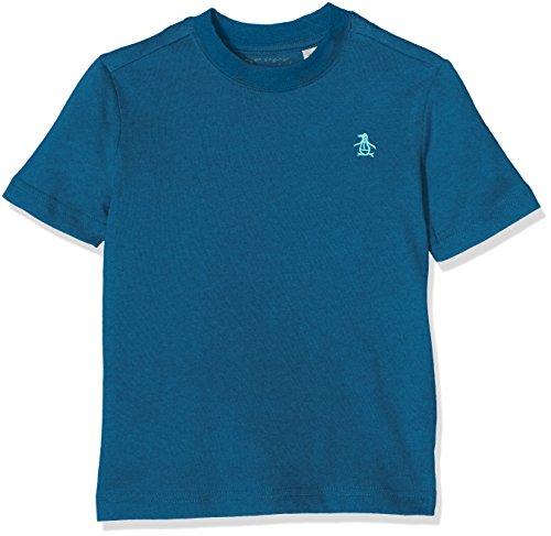 original-penguin-pin-point-camiseta-para-ninas-azul-seaport-12-13-anos-talla-del-fabricante-12-13y