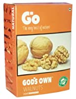 #6: Go God's Own Organic Walnut kernel (Broken Light 250gm)